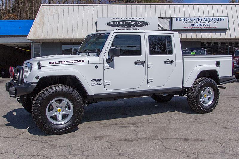 White Aev Jeep : Aev brute double cab rubitrux conversion
