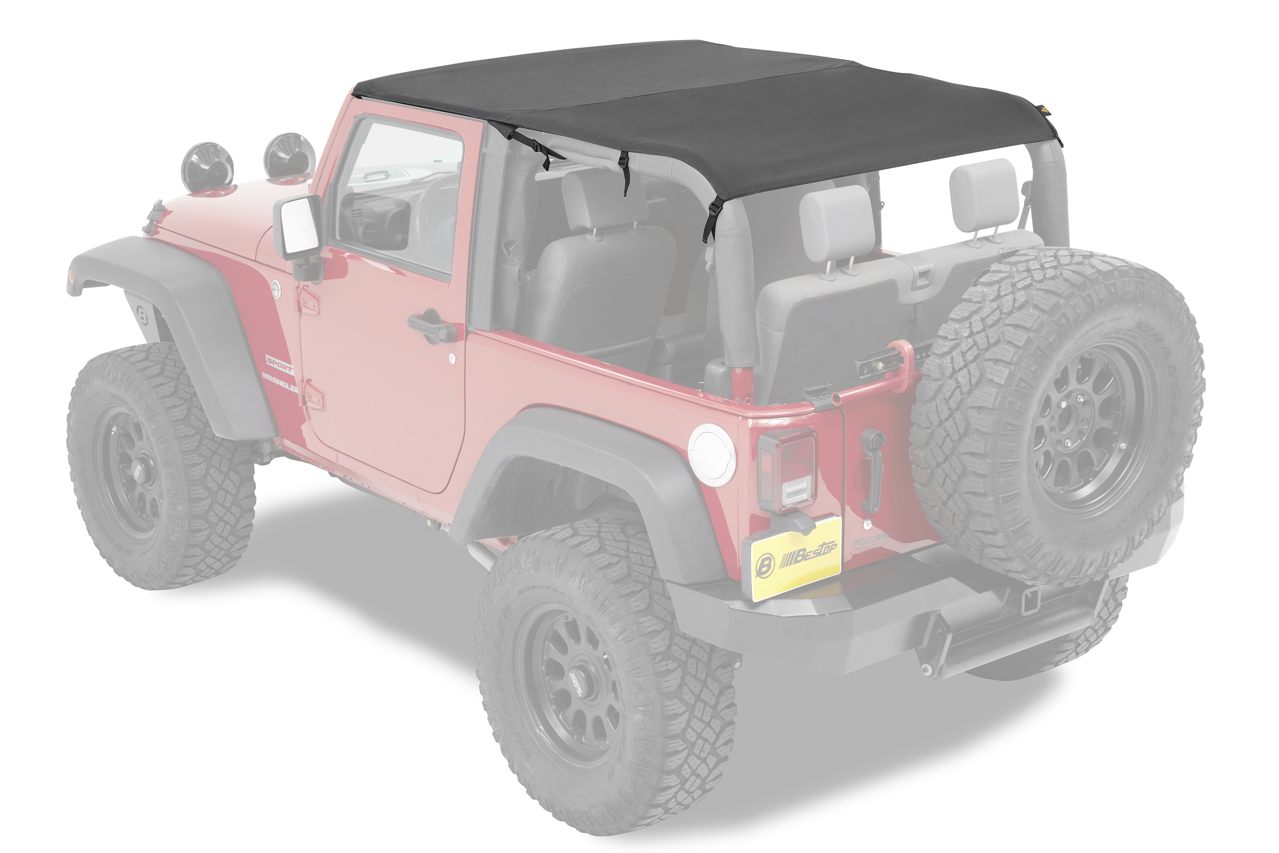 bestop 52593 cable style safari jeep bikini top wrangler jk. Cars Review. Best American Auto & Cars Review