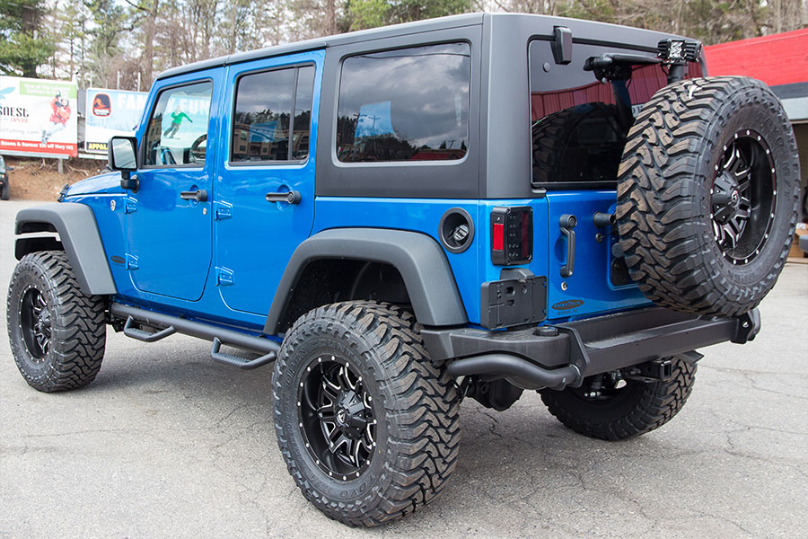custom 2016 jeep wrangler sport unlimited hydro blue. Cars Review. Best American Auto & Cars Review